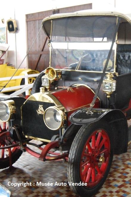 1908 - Motobloc Type N 4 cylindres semi-culbuté