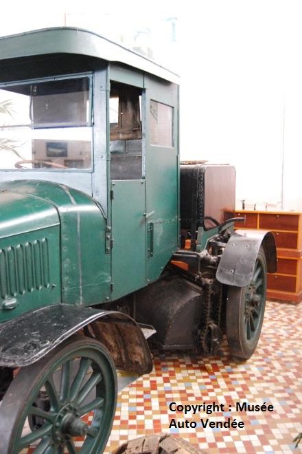 1912 - Laffly balayeuse ville de Nantes