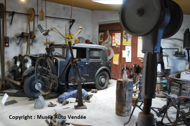 Reconstitution du garage Giron